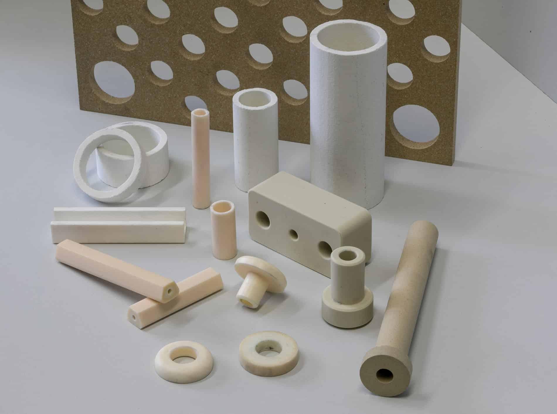 CArbonline Plastik Teile Rohre Scheiben