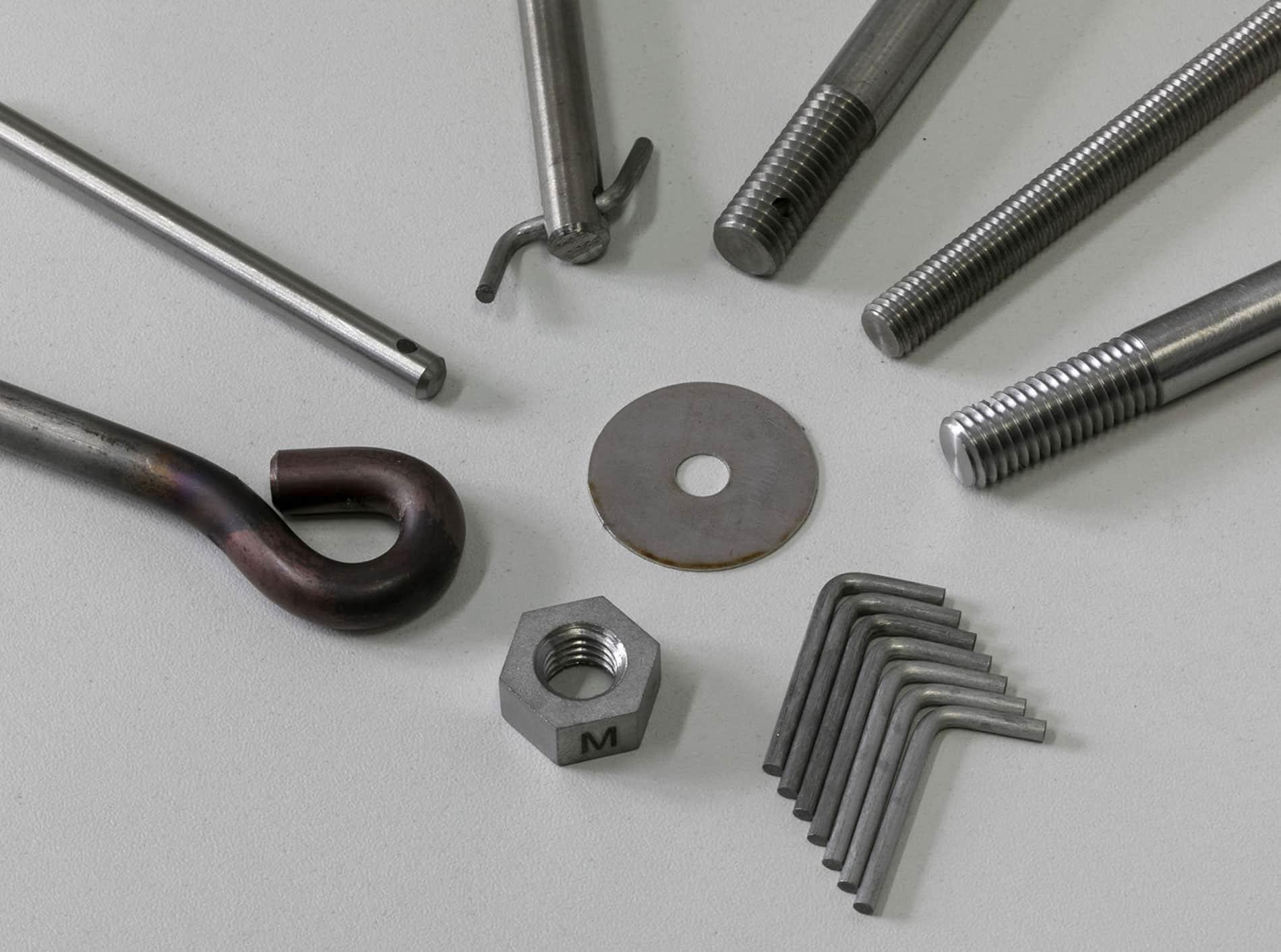Schrauben Gewinde Muttern Stahl Carbonline