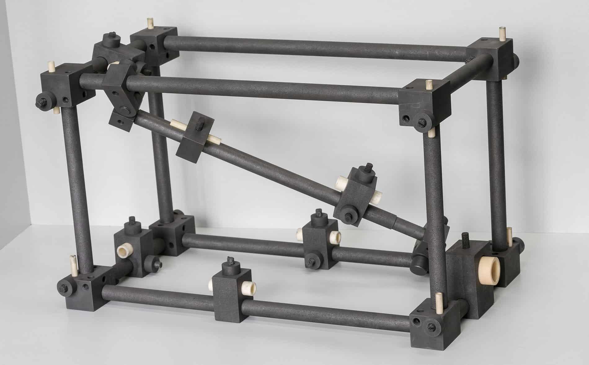 Carbonline Gestell Stangen Stahl gerüst